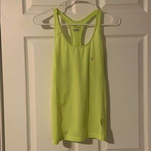 Old Navy NWOT neon yellow workout tank xs